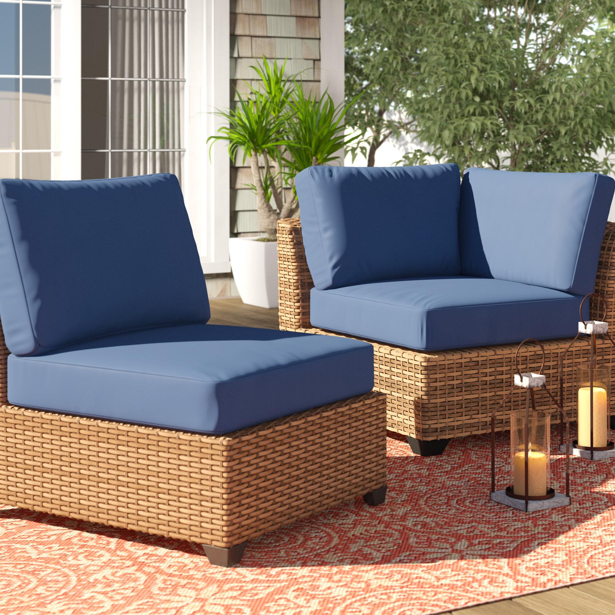 Sol 72 Outdoor 19 Piece Outdoor Lounge Chair Cushion Set Wayfair