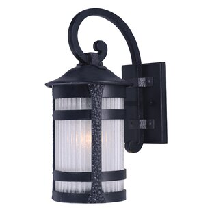 Affordable Alarice 1-Light Outdoor Wall Lantern By Bloomsbury Market