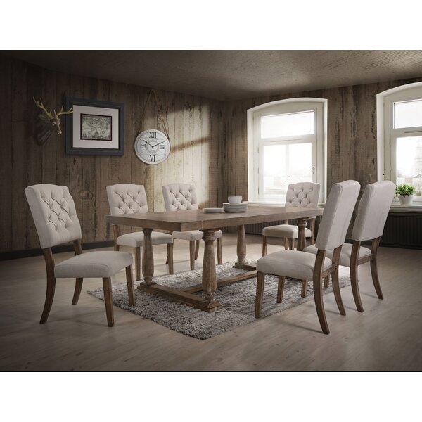 Lomba 7 Piece Dining Set by Canora Grey
