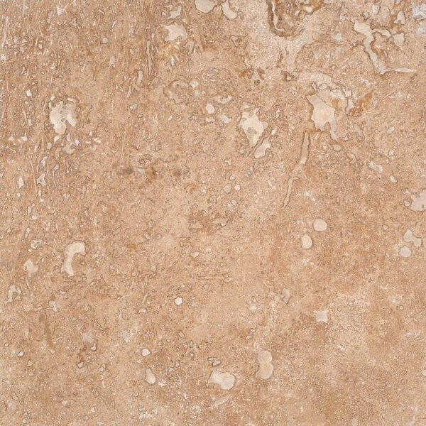 Tuscany Walnut 18'' x 18'' Travertine Field Tile in Brown by MSI