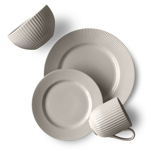 Roermond 16 Piece Dinnerware Set, Service for 4 by Laurel Foundry Modern Farmhouse