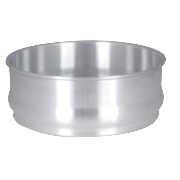 Round 96 Oz Stackable Aluminum Dough Pan by Thunder Group Inc.