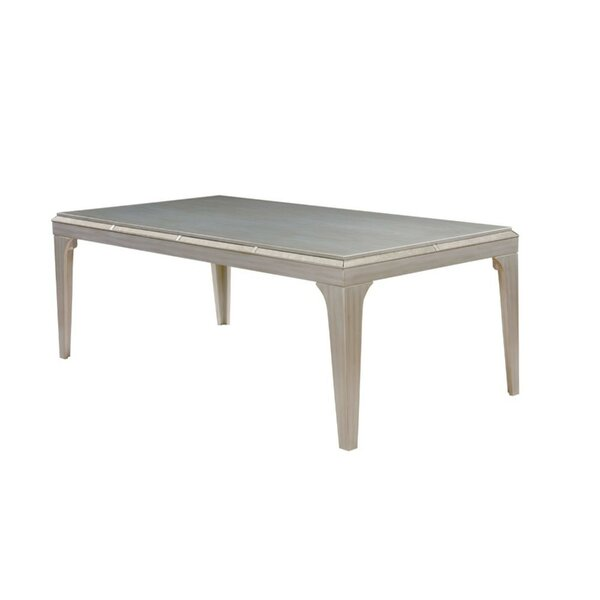 Cyrano Contemporary Dining Table by House of Hampton House of Hampton