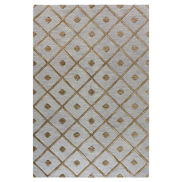 Rocky Hill Hand-Tufted Slate Area Rug by Darby Home Co