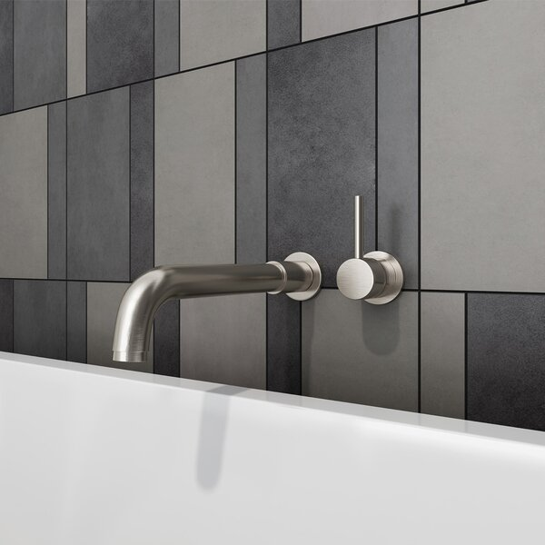 Motegi Single Handle Wall Mounted Tub Set by Pione