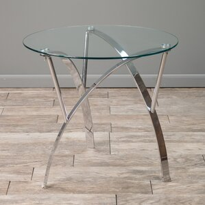 Quandro End Table by Wade Logan