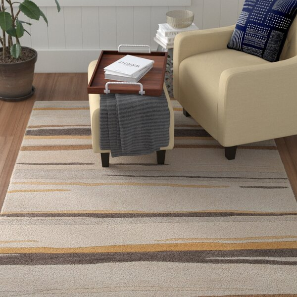 Williamsfield Grey Area Rug by Red Barrel Studio