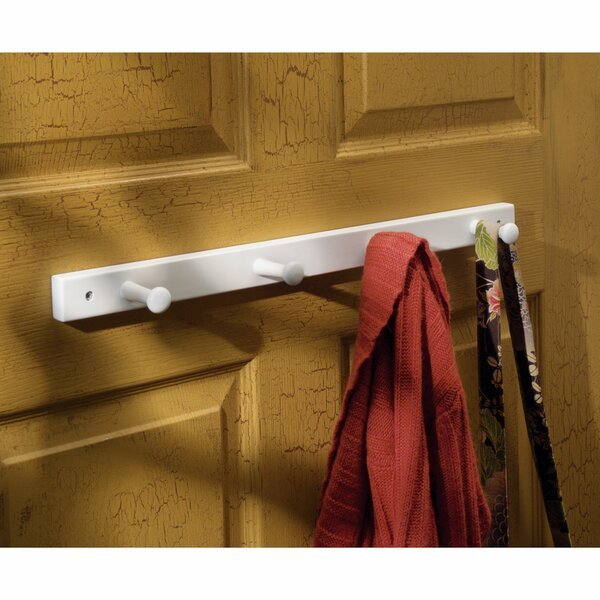 Wall Mounted 4 Peg Robe Hook by InterDesign