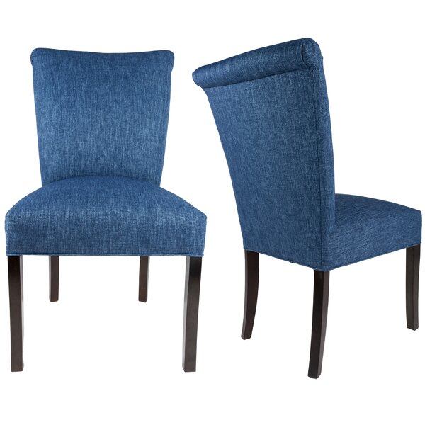 Barcelona Upholstered Dining Chairs (Set of 2) by Sole Designs