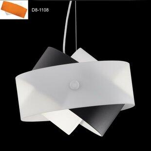Tourbillon 1-Light Geometric Pendant ByZANEEN design