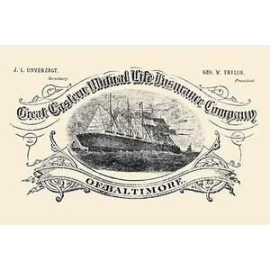 'Great Eastern Mutual Life Insurance Company of Baltimore' Graphic Art by Buyenlarge