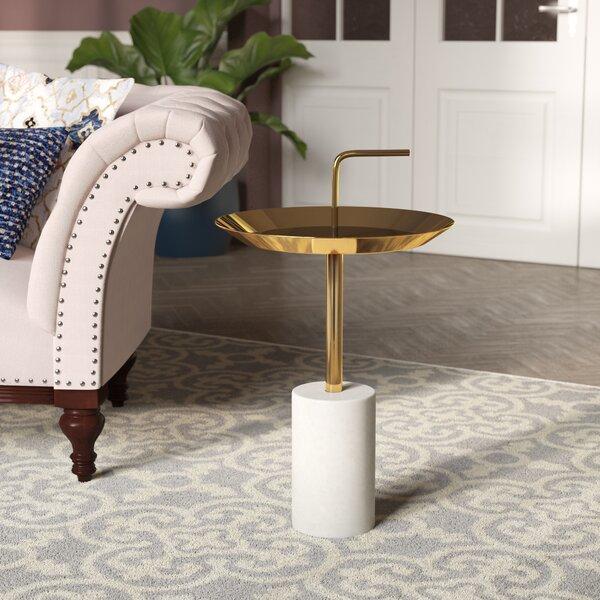 Tamara Tray Top Pedestal End Table By Willa Arlo Interiors