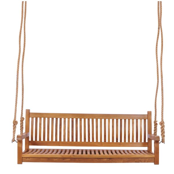 Brannan Teak Porch Swing By Rosecliff Heights by Rosecliff Heights Looking for