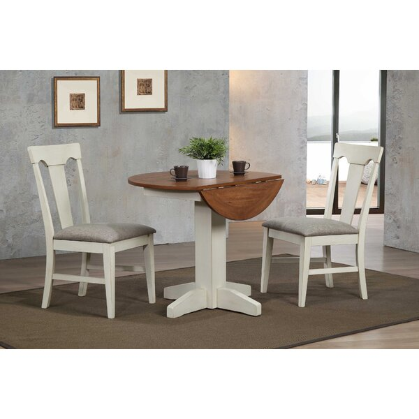 Yvonne 3 Piece Drop Leaf Dining Set by Gracie Oaks