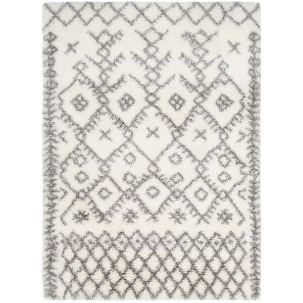 Longstreet Bohemian Cream/Taupe Area Rug by Union Rustic