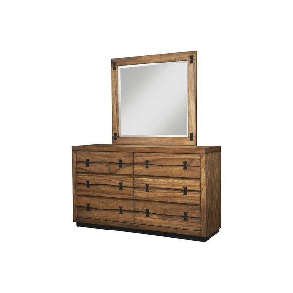 Ricker Rectangular Dresser Mirror by Loon Peak