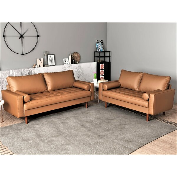 Appin 2 Piece Living Room Set by Wrought Studio Wrought Studio