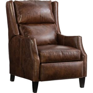 Thomas Leather Manual Recliner by Bradington-Young