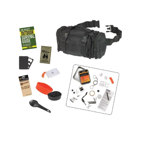 8 Piece Responsepak Survival Bundle by Snugpak