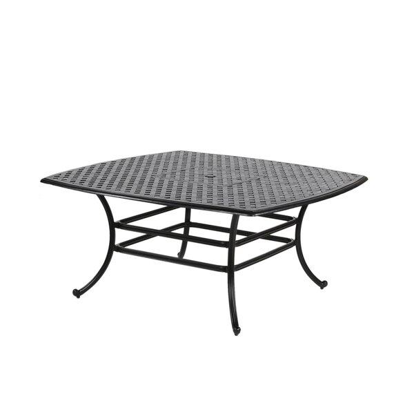Salia Aluminum Dining Table By Fleur De Lis Living by Fleur De Lis Living Cheap
