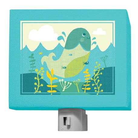 A Through Z Animals - Whale Night Light by Oopsy Daisy