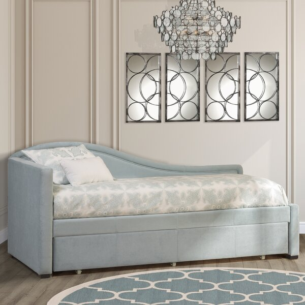 Robichaud Twin Daybed with Trundle by Willa Arlo Interiors