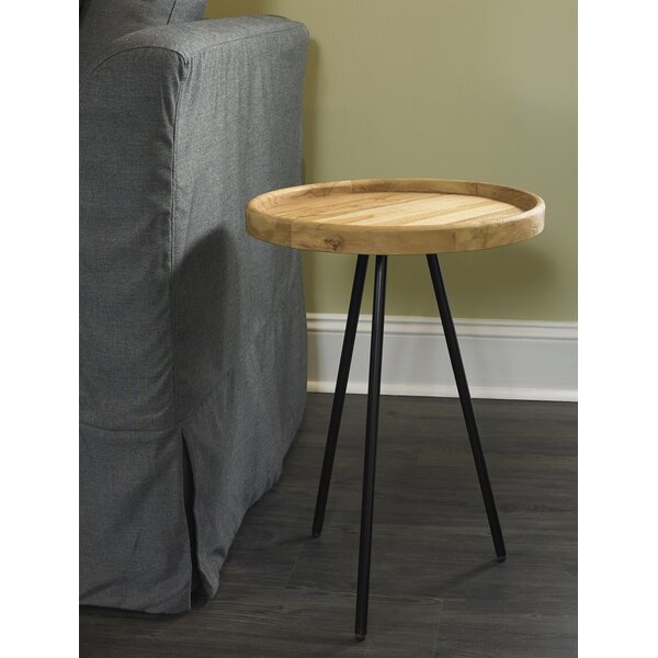 Review Davie 3 Legs End Table