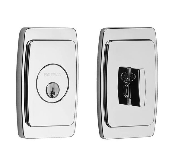 Palm Springs Single Cyilnder Deadbolt by Baldwin