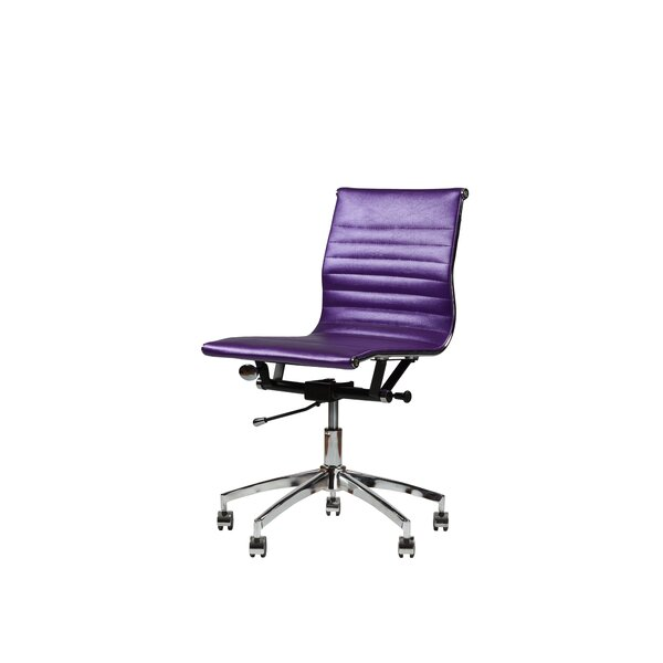 Fewell Swivel Office Chair by Wrought Studio