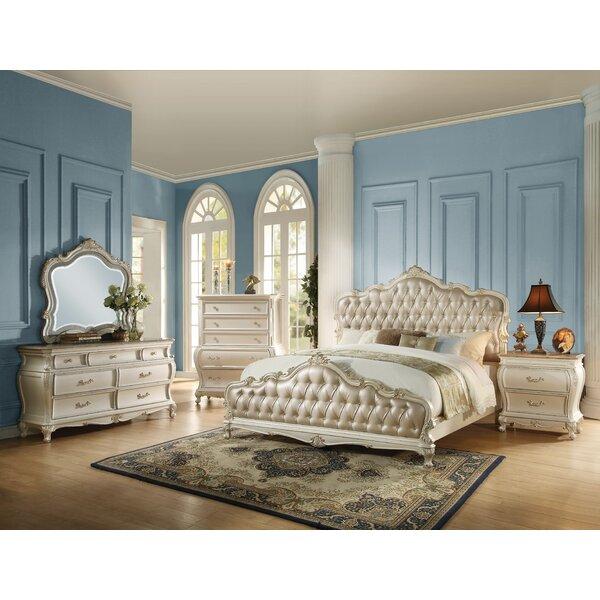 Lerner Upholstered Standard Bed by Rosdorf Park