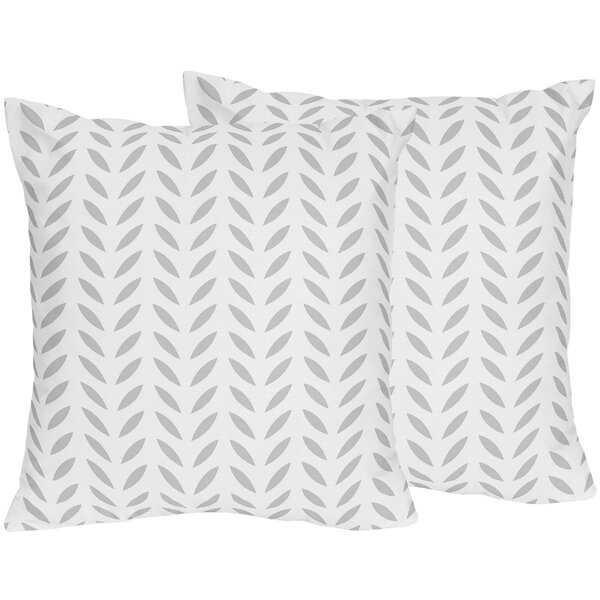 Forest Deer Cotton Throw Pillow (Set of 2) by Sweet Jojo Designs