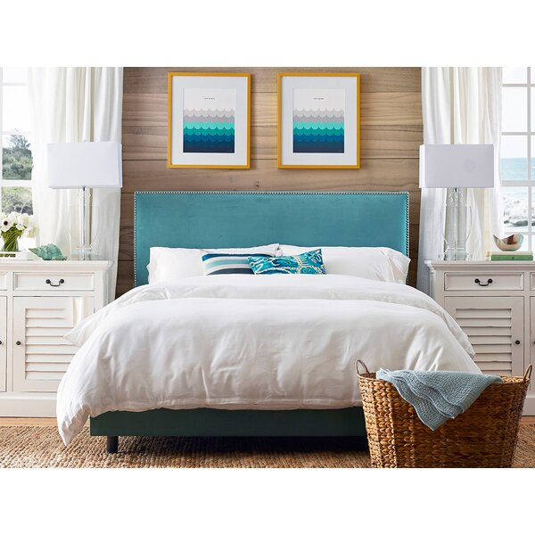 Marlo Upholstered Standard Bed by Skyline Furniture