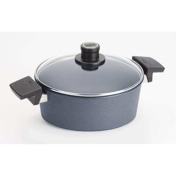 Diamond Lite Round Non-Stick Casserole by Woll Cookware