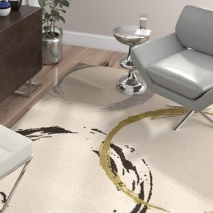 Look for Kenzo Ivory Area Rug ByWade Logan