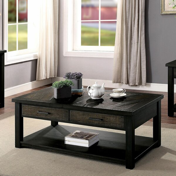 Gillespie Coffee Table With Storage By Canora Grey