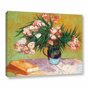 'Oleander' by Vincent Van Gogh Painting Print on Canvas by Alcott Hill