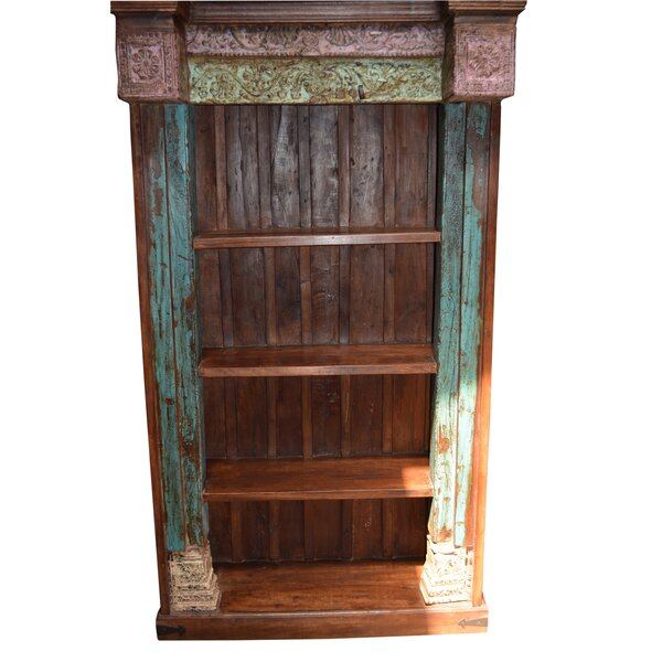 Kyree Carved Standard Bookcase by World Menagerie