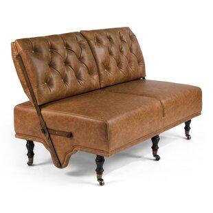 Montgomery Leather Settee