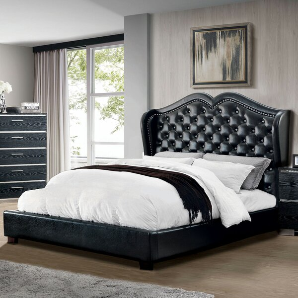Rocha Upholstered Platform Bed by Rosdorf Park