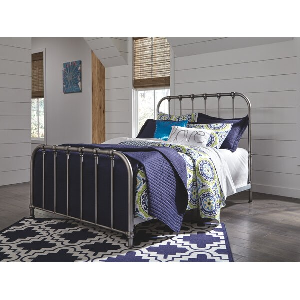 Llanas Standard Bed by 17 Stories