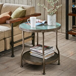 Cambridge Round End Table by INK+IVY