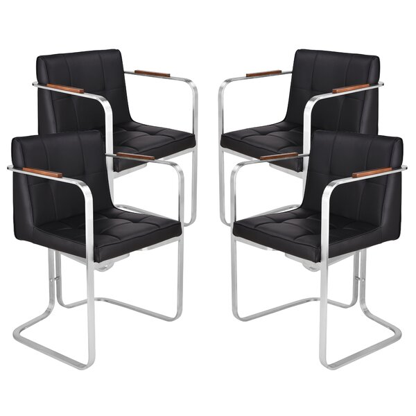 Rogersville Upholstered Dining Chair (Set of 4) by Orren Ellis