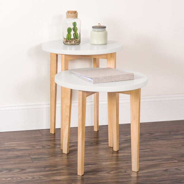 Hinesville Solid Wood Nesting Tables By George Oliver