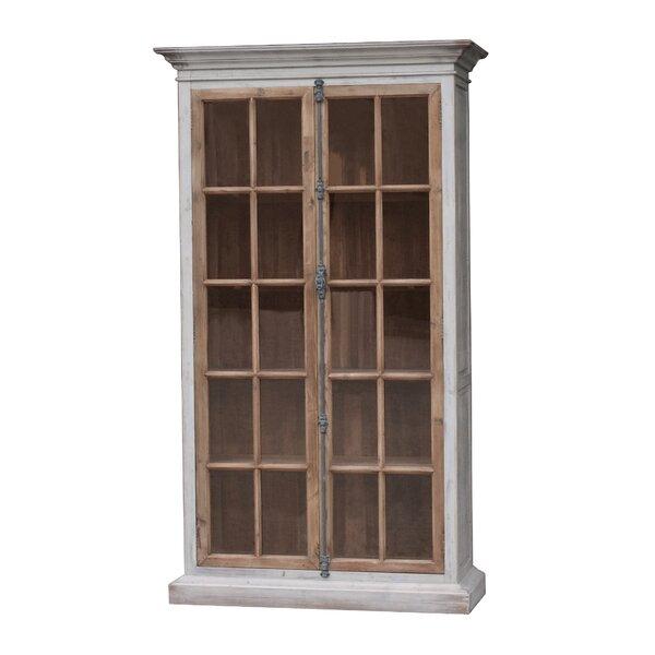 Mallory Vitrine Standard Bookcase by White x White