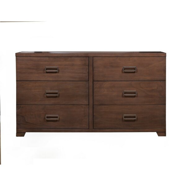 Berman 6 Drawer Double Dresser by George Oliver