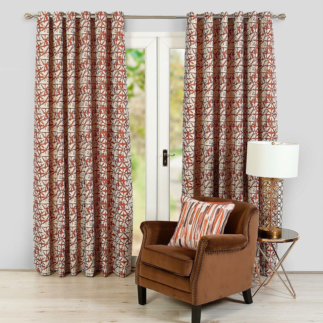 Celia Eyelet Room Darkening Thermal Curtains