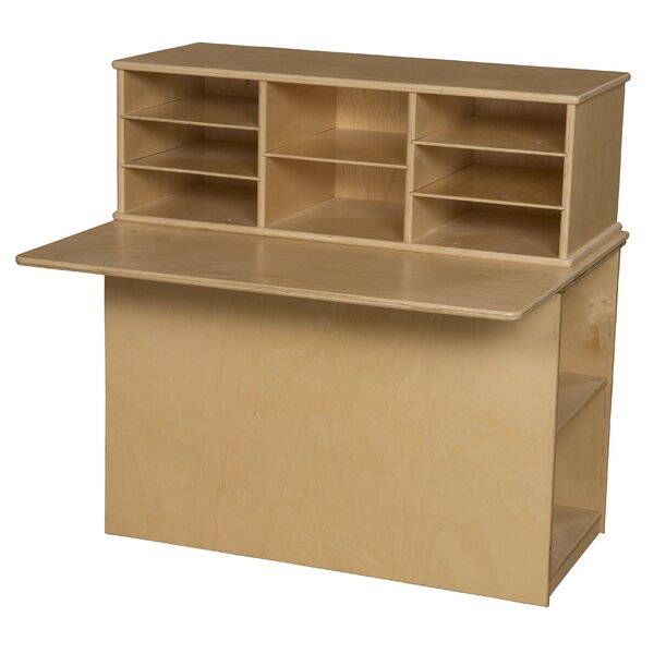 Single Sided Junior Portable 12 Compartment Cubby by Wood Designs