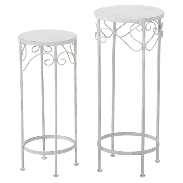 Brian 2 Piece Nesting Plant Stand Set by Ophelia & Co.
