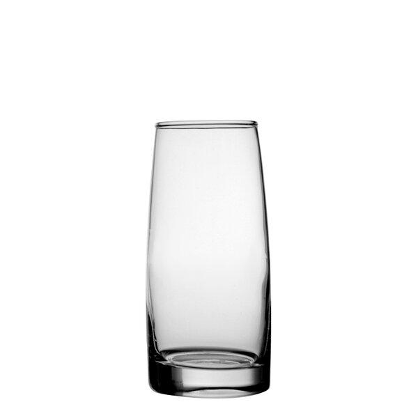 Julene 10.5 oz. Glass Highball Glass (Set of 6) by D&V