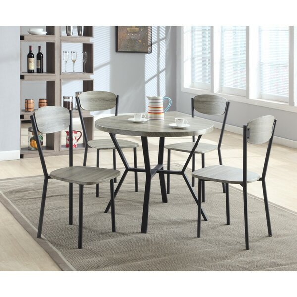 Merrifield 5 Piece Round Dining Set by Williston Forge